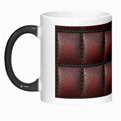 Red Cell Leather Retro Car Seat Textures Morph Mugs by Nexatart