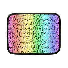 A Creative Colorful Background Netbook Case (small)