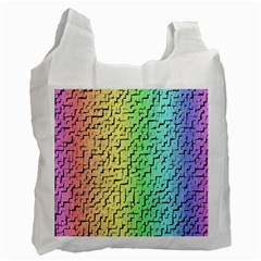 A Creative Colorful Background Recycle Bag (one Side) by Nexatart