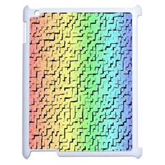 A Creative Colorful Background Apple Ipad 2 Case (white) by Nexatart