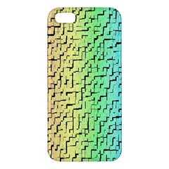 A Creative Colorful Background Apple Iphone 5 Premium Hardshell Case