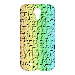 A Creative Colorful Background Samsung Galaxy S4 I9500/i9505 Hardshell Case by Nexatart