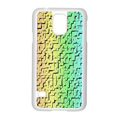 A Creative Colorful Background Samsung Galaxy S5 Case (white) by Nexatart