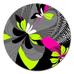 Abstract Illustration Nameless Fantasy Magnet 5  (round) by Nexatart