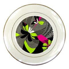 Abstract Illustration Nameless Fantasy Porcelain Plates by Nexatart
