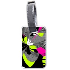 Abstract Illustration Nameless Fantasy Luggage Tags (one Side)  by Nexatart