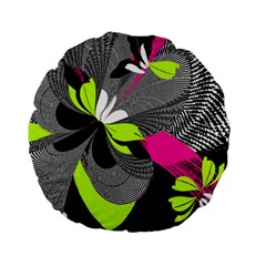 Abstract Illustration Nameless Fantasy Standard 15  Premium Flano Round Cushions