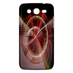 Fractal Fabric Ball Isolated On Black Background Samsung Galaxy Mega 5 8 I9152 Hardshell Case