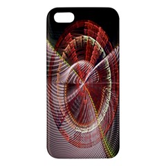 Fractal Fabric Ball Isolated On Black Background Iphone 5s/ Se Premium Hardshell Case by Nexatart