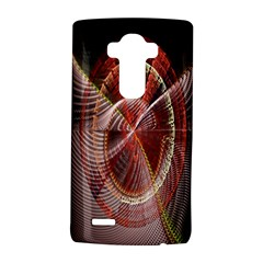 Fractal Fabric Ball Isolated On Black Background Lg G4 Hardshell Case by Nexatart
