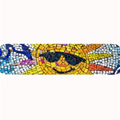 Sun From Mosaic Background Large Bar Mats by Nexatart