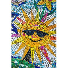 Sun From Mosaic Background 5 5  X 8 5  Notebooks by Nexatart