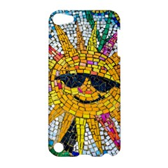 Sun From Mosaic Background Apple Ipod Touch 5 Hardshell Case