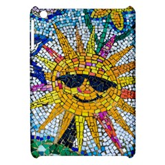 Sun From Mosaic Background Apple Ipad Mini Hardshell Case by Nexatart