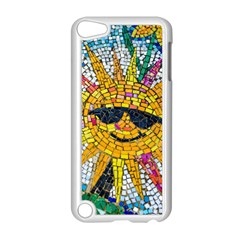 Sun From Mosaic Background Apple Ipod Touch 5 Case (white) by Nexatart