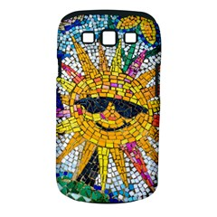Sun From Mosaic Background Samsung Galaxy S Iii Classic Hardshell Case (pc+silicone) by Nexatart