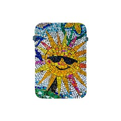 Sun From Mosaic Background Apple Ipad Mini Protective Soft Cases by Nexatart