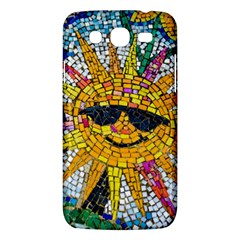 Sun From Mosaic Background Samsung Galaxy Mega 5 8 I9152 Hardshell Case