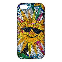 Sun From Mosaic Background Apple Iphone 5c Hardshell Case