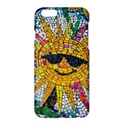 Sun From Mosaic Background Apple Iphone 6 Plus/6s Plus Hardshell Case by Nexatart