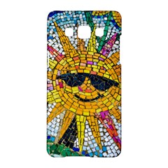 Sun From Mosaic Background Samsung Galaxy A5 Hardshell Case  by Nexatart