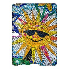 Sun From Mosaic Background Samsung Galaxy Tab S (10 5 ) Hardshell Case  by Nexatart