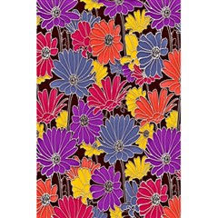 Colorful Floral Pattern Background 5 5  X 8 5  Notebooks by Nexatart
