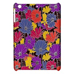 Colorful Floral Pattern Background Apple Ipad Mini Hardshell Case