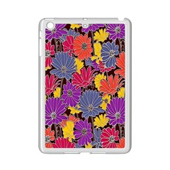 Colorful Floral Pattern Background Ipad Mini 2 Enamel Coated Cases by Nexatart