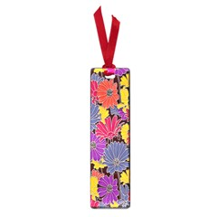 Colorful Floral Pattern Background Small Book Marks by Nexatart