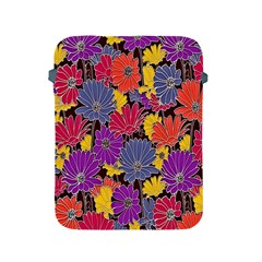 Colorful Floral Pattern Background Apple Ipad 2/3/4 Protective Soft Cases