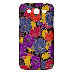 Colorful Floral Pattern Background Samsung Galaxy Mega 5 8 I9152 Hardshell Case  by Nexatart