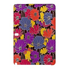 Colorful Floral Pattern Background Samsung Galaxy Tab Pro 10 1 Hardshell Case by Nexatart
