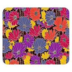Colorful Floral Pattern Background Double Sided Flano Blanket (small)  by Nexatart