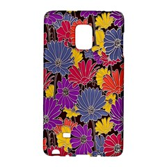 Colorful Floral Pattern Background Galaxy Note Edge by Nexatart