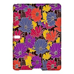 Colorful Floral Pattern Background Samsung Galaxy Tab S (10 5 ) Hardshell Case  by Nexatart