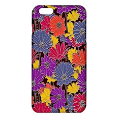 Colorful Floral Pattern Background Iphone 6 Plus/6s Plus Tpu Case by Nexatart
