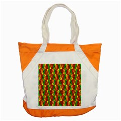 Colorful Wooden Background Pattern Accent Tote Bag