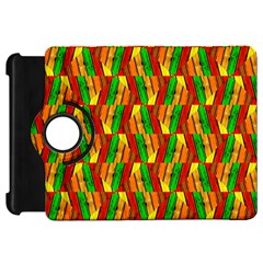 Colorful Wooden Background Pattern Kindle Fire Hd 7