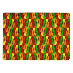 Colorful Wooden Background Pattern Samsung Galaxy Tab 10 1  P7500 Flip Case
