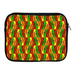 Colorful Wooden Background Pattern Apple Ipad 2/3/4 Zipper Cases