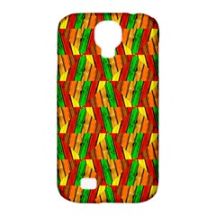 Colorful Wooden Background Pattern Samsung Galaxy S4 Classic Hardshell Case (pc+silicone) by Nexatart
