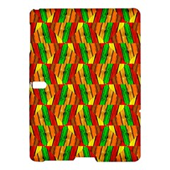 Colorful Wooden Background Pattern Samsung Galaxy Tab S (10 5 ) Hardshell Case  by Nexatart