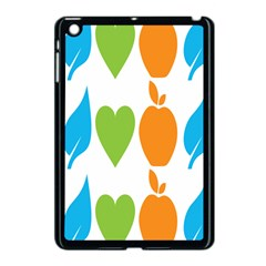 Fruit Apple Orange Green Blue Apple Ipad Mini Case (black) by Mariart