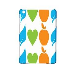 Fruit Apple Orange Green Blue Ipad Mini 2 Hardshell Cases by Mariart