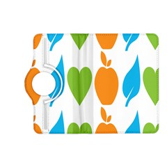 Fruit Apple Orange Green Blue Kindle Fire Hd (2013) Flip 360 Case by Mariart