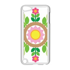 Flower Floral Sunflower Sakura Star Leaf Apple Ipod Touch 5 Case (white) by Mariart