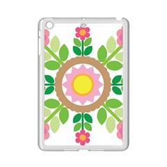 Flower Floral Sunflower Sakura Star Leaf Ipad Mini 2 Enamel Coated Cases by Mariart