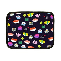 Japanese Food Sushi Fish Netbook Case (small)  by Mariart