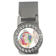 Colorful Fish Animals Rainbow Money Clips (cz)  by Mariart